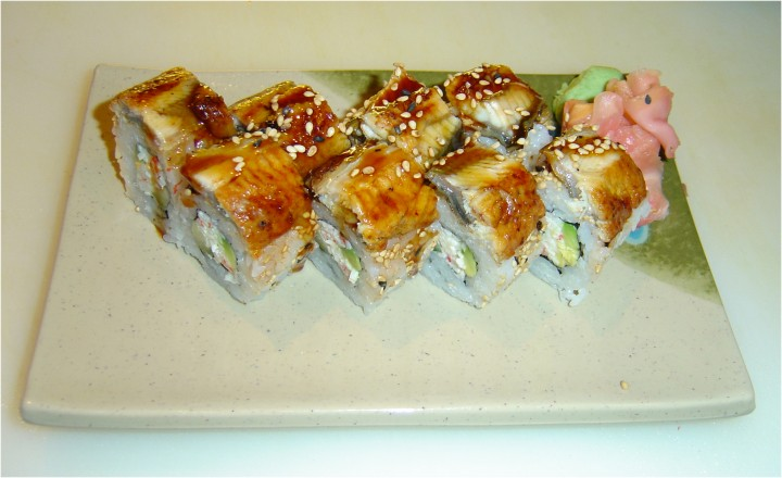 California Eel Roll