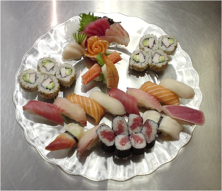 Sushi Sashimi for two